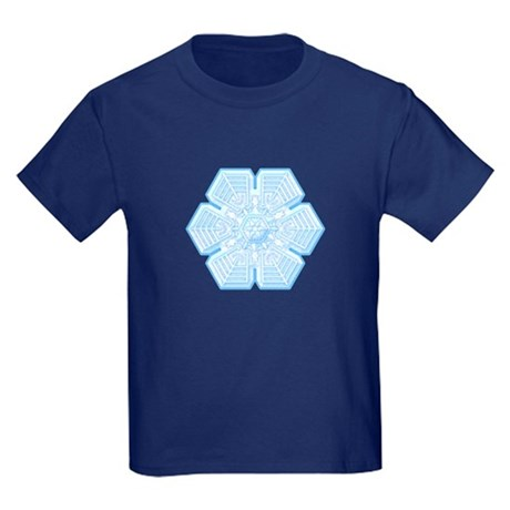 Flurry Snowflake XVI Kids Dark T-Shirt
