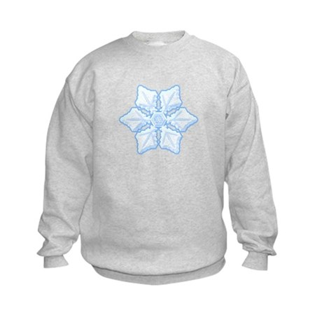 Flurry Snowflake XV Kids Sweatshirt