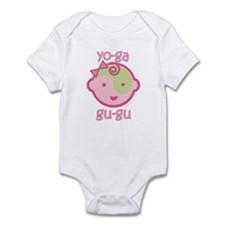 Cute Yoga om Infant Bodysuit