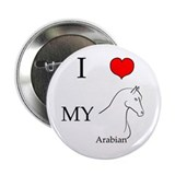 "I Love My Arabian Horse 2.25"" Button"