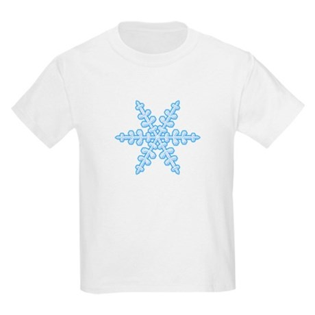 Flurry Snowflake XIV Kids Light T-Shirt