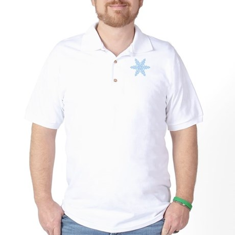 Flurry Snowflake XIV Golf Shirt