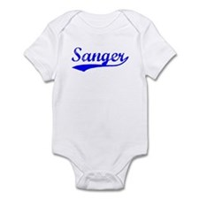 Vintage Sanger (Blue) Infant Bodysuit
