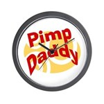 Pimp Daddy Wall Clock