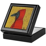 Hooded Crow Keepsake Box