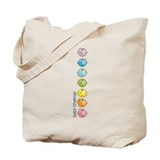 Baby Chakras Rainbow Tote Bag