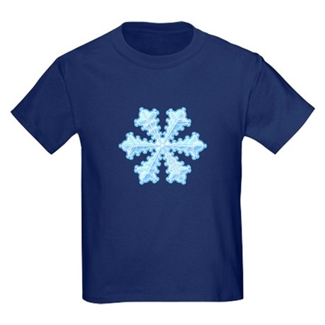 Flurry Snowflake XIII Kids Dark T-Shirt