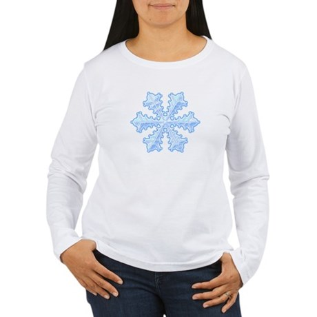 Flurry Snowflake XIII Women's Long Sleeve T-Shirt