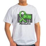Lymphoma Cure Priceless T-Shirt