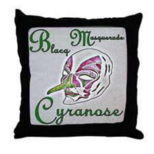 Cyranose Throw Pillow