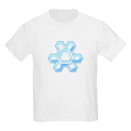 Flurry Snowflake XII Kids Light T-Shirt