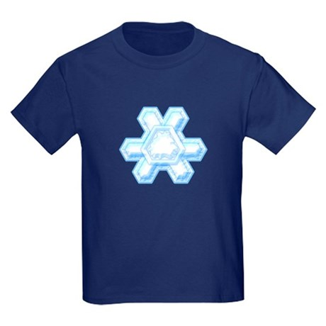 Flurry Snowflake XII Kids Dark T-Shirt