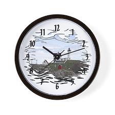 Nubble Lighthouse ~ Wall Clock