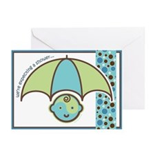 Baby Shower Invite : Boy! Greeting Cards (Pk of 20
