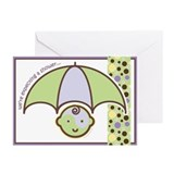 Baby Shower Invite : Baby! Greeting Cards (Pk of 1