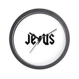 Jesus AC/DC (from Saved) Wall Clock