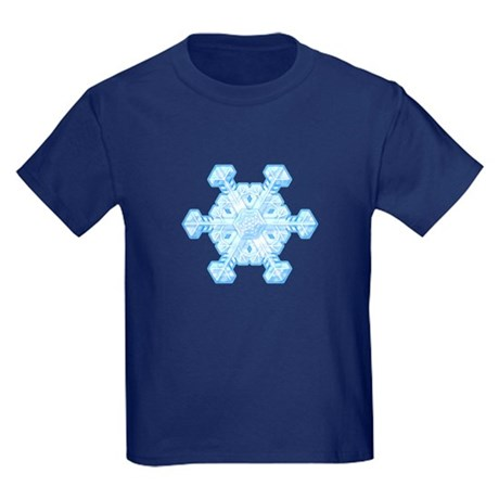 Flurry Snowflake XI Kids Dark T-Shirt