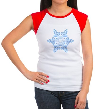 Flurry Snowflake X Women's Cap Sleeve T-Shirt