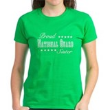 Proud National Guard Sister Tee