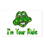I'm Your Ride Postcards (Package of 8)