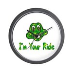 I'm Your Ride Wall Clock