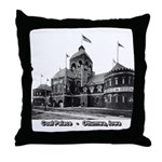 Coal Palace Throw Pillow
