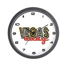 Vegas Baby Wall Clock