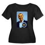 Barack Obama Hope Women's Plus Size Scoop Neck Dar
