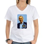 Barack Obama Hope Women's V-Neck T-Shirt