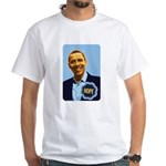 Barack Obama Hope White T-Shirt