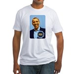 Barack Obama Hope Fitted T-Shirt