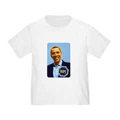 Barack Obama Hope Toddler T-Shirt