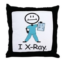BusyBodies X-Ray Tech Throw Pillow