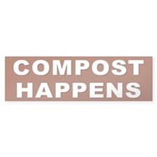 COMPOST Bumper Bumper Sticker