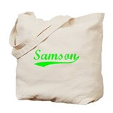 Vintage Samson (Green) Tote Bag