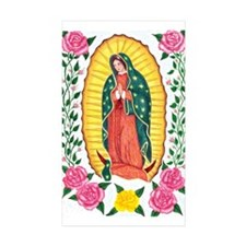 PAZ VIRGIN DE GUADALUPE Rectangle Sticker 10 pk)