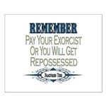 Repossessed Small Poster