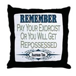 Repossessed Throw Pillow