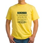 Repossessed Yellow T-Shirt