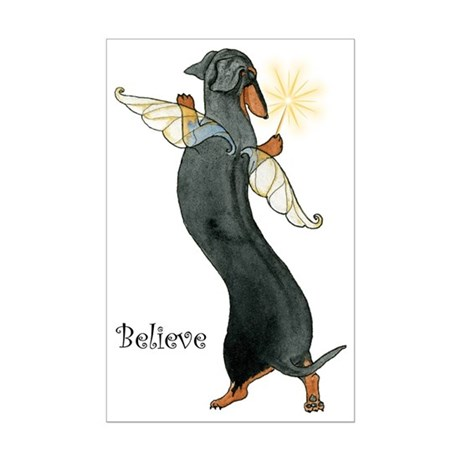 """Believe"" BT Fairy Mini Poster Print"