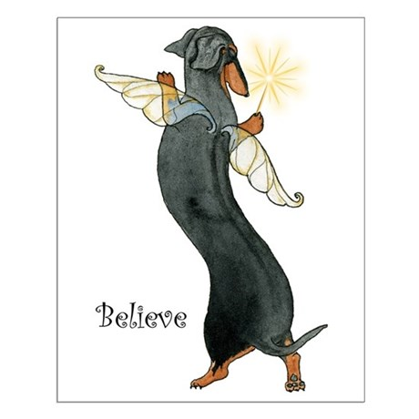 """Believe"" BT Fairy Small Poster"
