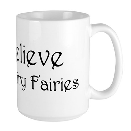 """Believe"" BT Fairy Large Mug"