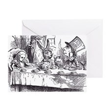 Mad Tea-Party Greeting Cards (Pk of 10)