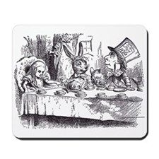 Mad Tea-Party Mousepad