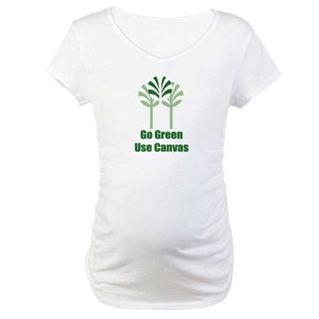 Go Green Maternity T-Shirt
