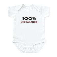 100 Percent Dishwasher Infant Bodysuit