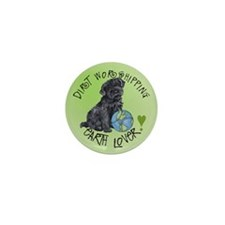 Earth Day Kerry Blue Mini Button