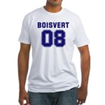 Boisvert 08 Fitted T-Shirt