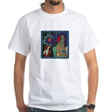 Huichol Art: 'Lizard Dreams' Unisex T-Shirt
