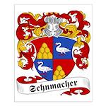 Schumacher Family Crest Small Poster